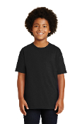 YOUTH Cotton Short Sleeve T-Shirt (3 COLORS)