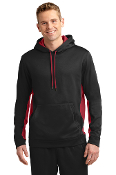 ADULT Fleece ColorBlock Hooded Pullover (2 COLORS)