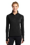 LADIES Stretch 1/2 Zip Pullover (2 COLOR CHOICES)
