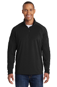 ADULT Stretch 1/2 ZIP Pullover (2 COLOR CHOICES)