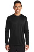 ADULT Long Sleeve PERFORMANCE T-Shirt (2 COLOR CHOICES)