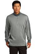 ADULT Nike 1/2 Zip (ATHLETIC GREY HEATHER/DARK GREY)