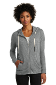 LADIES Full Zip Hoodie (ECO GREY)