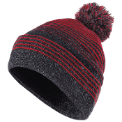 Cuffed Knit Stocking Hat (2 COLORS)