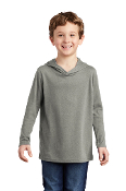 YOUTH TriBlend Long Sleeve Hooded T (2 COLORS)