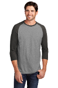 ADULT Triblend 3/4 Sleeve Tee (2 COLORS)